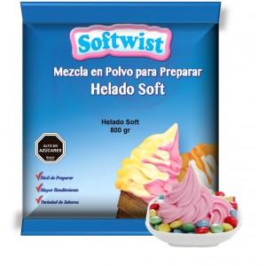 Helados Soft  800 grs.